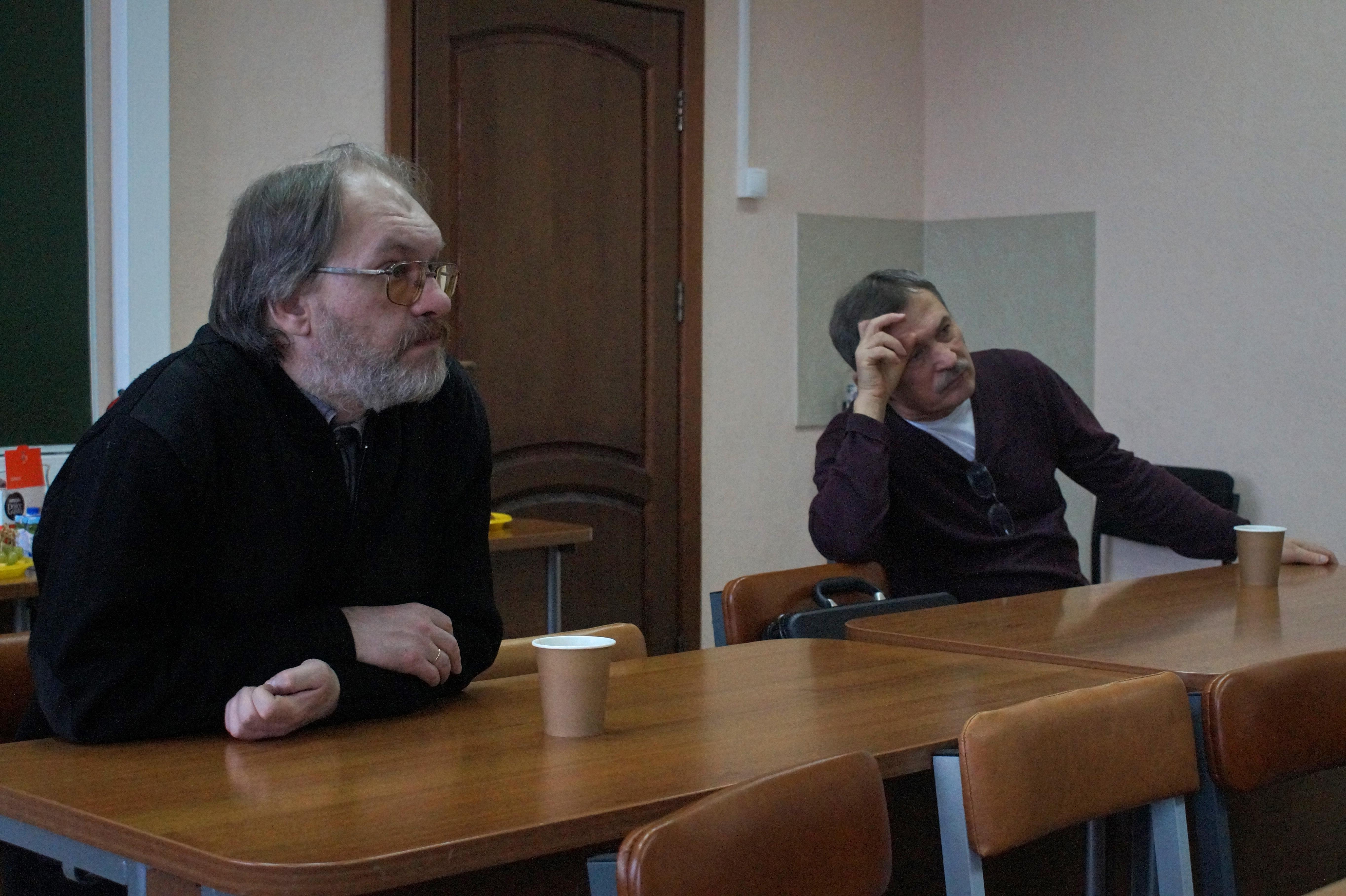 В.В. Римацкий и В.Р. Кияткин