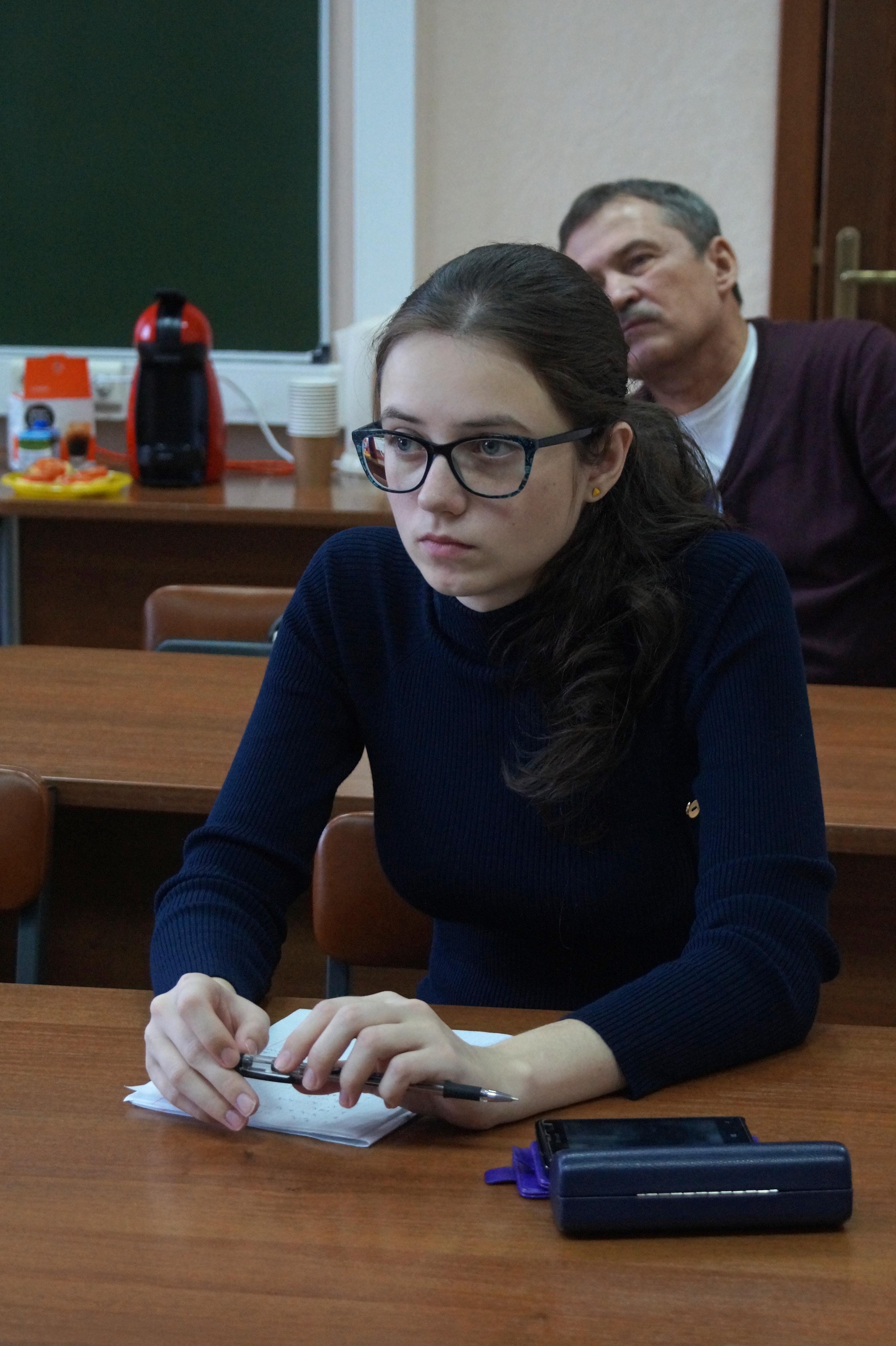 студентка магистратуры И.А. Марковская